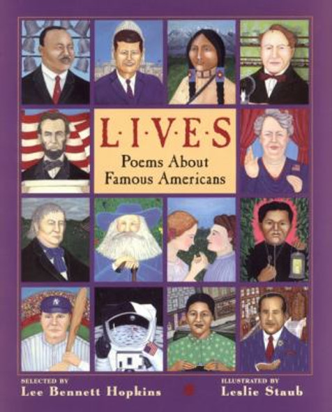 Lives: Poems about Famous Americans Cover