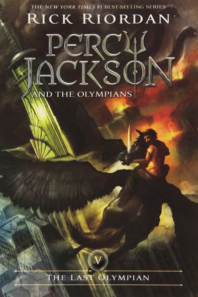 The Last Olympian (Percy Jackson and the Olympians, Book 5) Cover