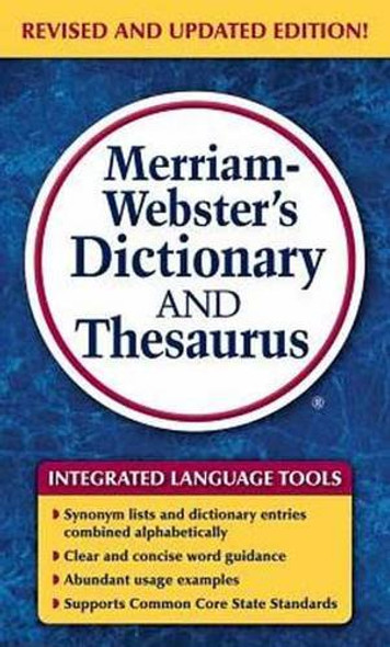 Merriam-Webster's Dictionary and Thesaurus Cover