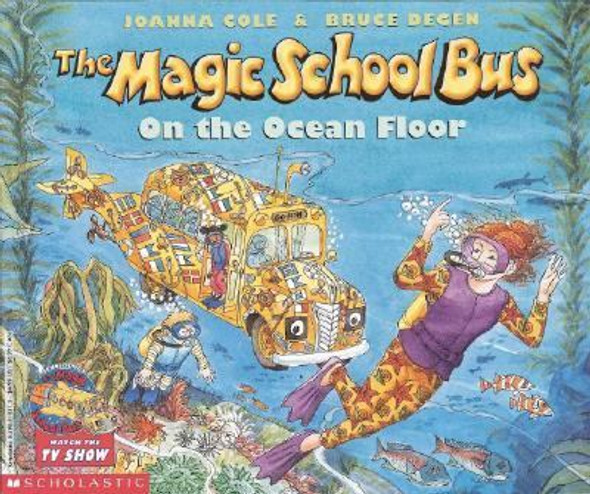 The Magic School Bus on the Ocean Floor Cover