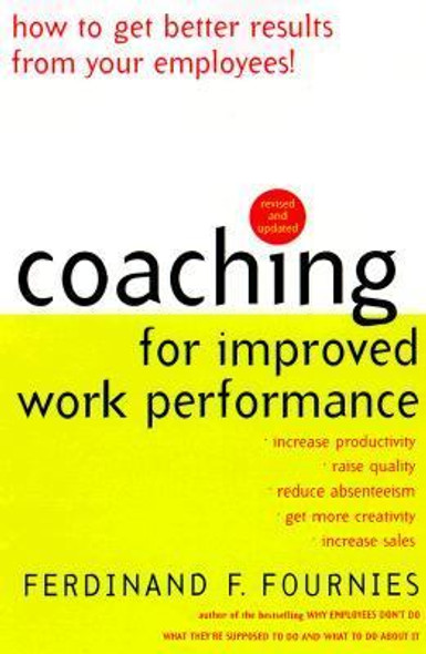 Coaching for Improved Work Performance Cover