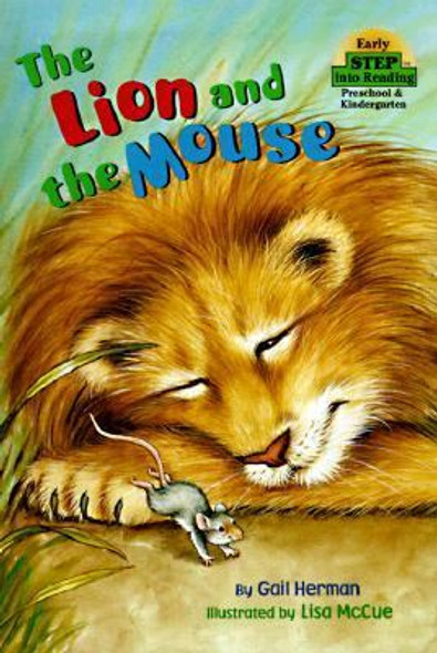 The Lion and the Mouse (Step-Into-Reading, Step 1) Cover