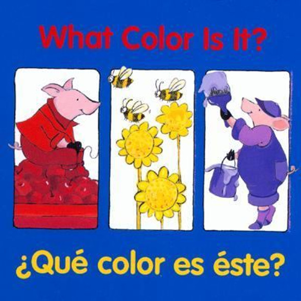 What Color Is It? Que color es este? (Good Beginnings) (Spanish Edition) Cover