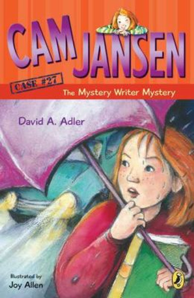 Cam Jansen: The Mystery Writer Mystery Cover