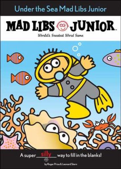 Under the Sea Mad Libs Junior Cover
