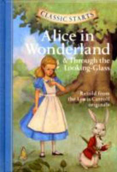 Alice in Wonderland and Through the Looking-Glass Cover