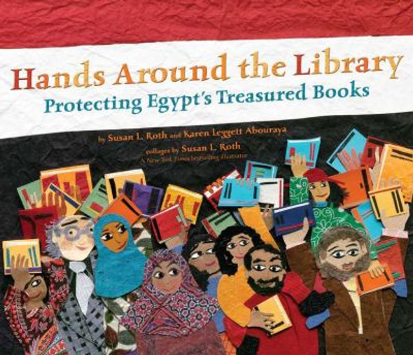 Hands Around the Library: Protecting Egypt's Treasured Books Cover