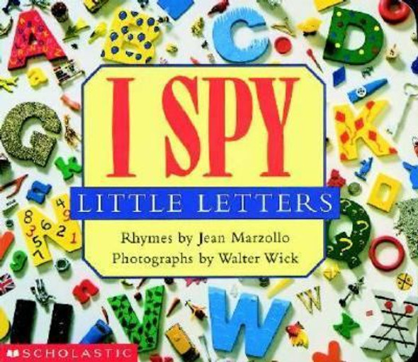 I Spy Little Letters Cover