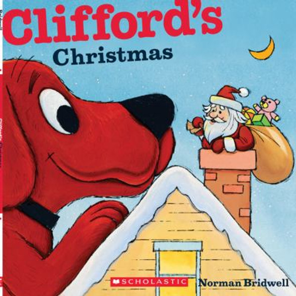 Clifford's Christmas Cover