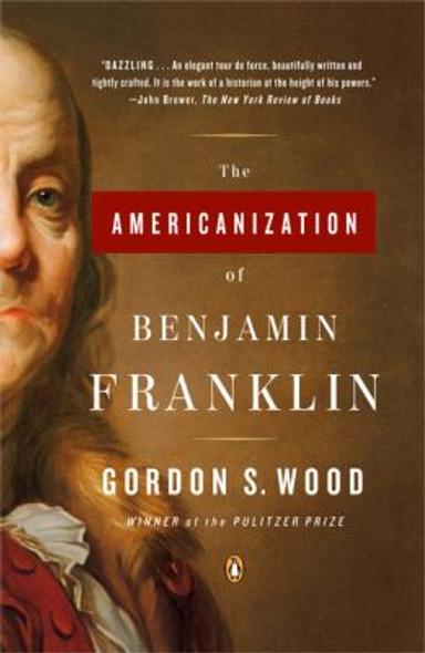 The Americanization of Benjamin Franklin Cover