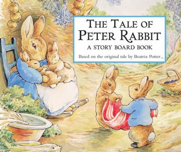 The Tale of Peter Rabbit Story Board Book Cover