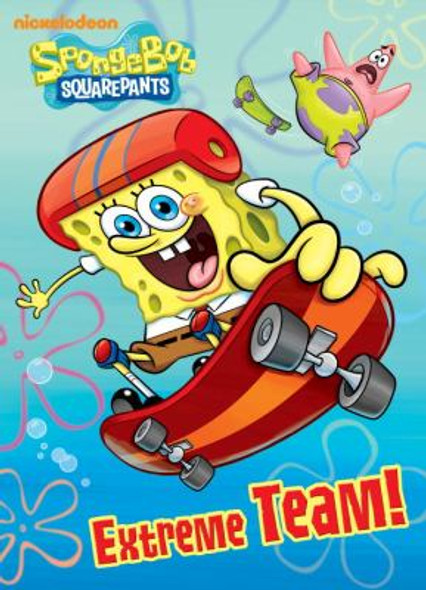 Extreme Team! (SpongeBob SquarePants) (Deluxe Coloring Book) Cover