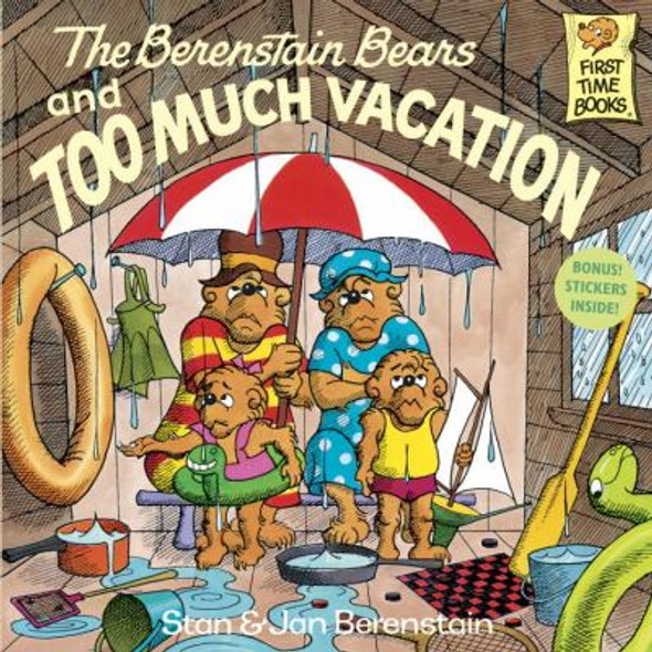 The Berenstain Bears and Too Much Vacation Cover