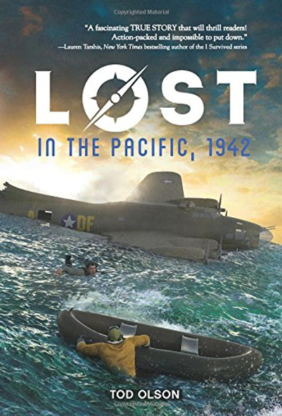 Lost in the Pacific, 1942: Not a Drop to Drink (Lost #1) Cover