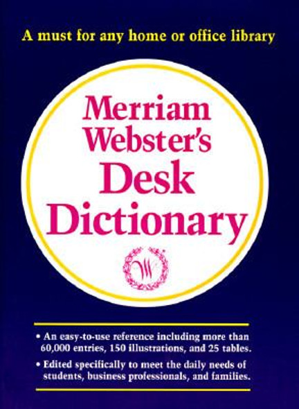 Merriam-Webster's Desk Dictionary Cover