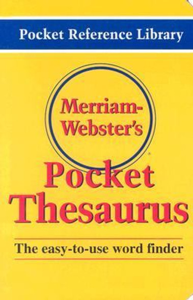 Merriam-Webster's Pocket Thesaurus Cover