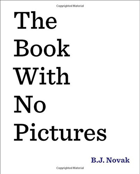 The Book with No Pictures Cover