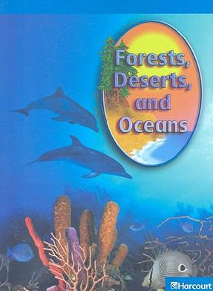 Forests, Deserts, and Oceans Cover
