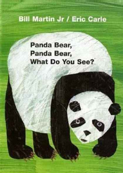 Panda Bear, Panda Bear, What Do You See? Cover