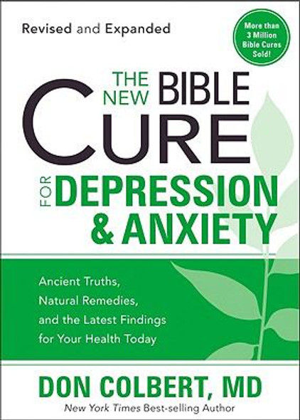 The New Bible Cure for Depression & Anxiety (Revised, Expanded) Cover