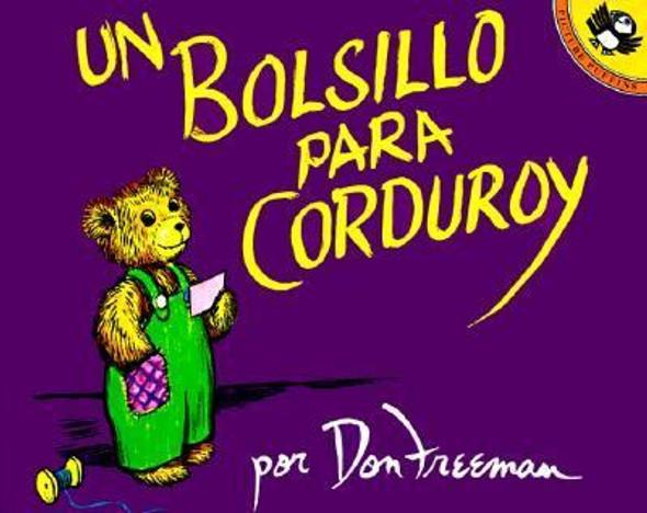 Un Bolsillo Para Corduroy = A Pocket for Corduroy Cover