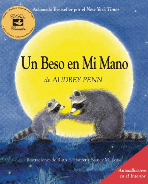 Un Beso En Mi Mano (the Kissing Hand) (Spanish Edition) Cover