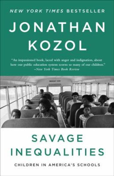 Savage Inequalities: Children in America's Schools Cover