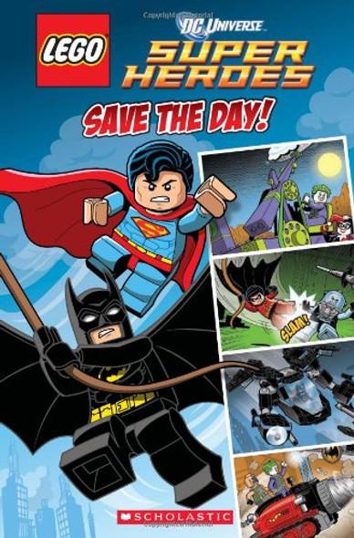 LEGO DC Superheroes: Comic Reader #1 Cover