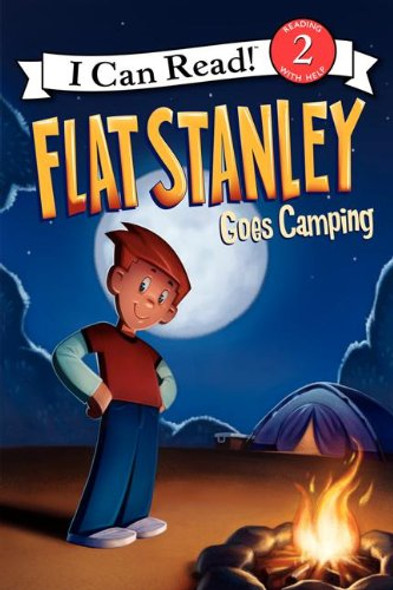 Flat Stanley Goes Camping Cover
