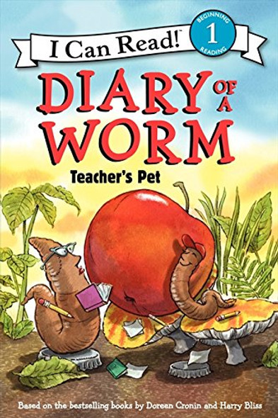 Diary of a Worm: Teacher's Pet (I Can Read Level 1) Cover
