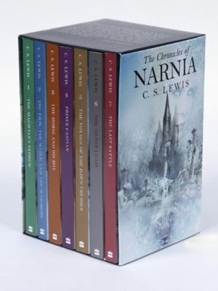 The Chronicles of Narnia Box Set: The Magician's Nephew; The Lion, the Witch and the Wardrobe; The Hourse and His Boy; Prince Caspian; The Voyage of the Dawn Treader; The Silver Chair; The Last Battle Cover