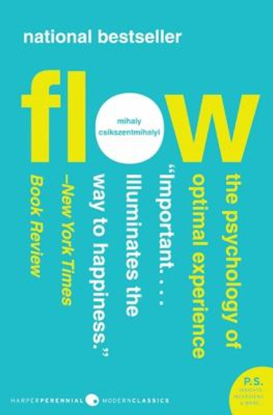 Flow: The Psychology of Optimal Experience Cover