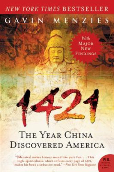 1421: The Year China Discovered America Cover