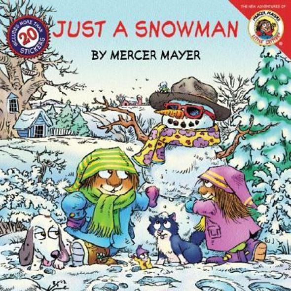 Little Critter: Just a Snowman Cover