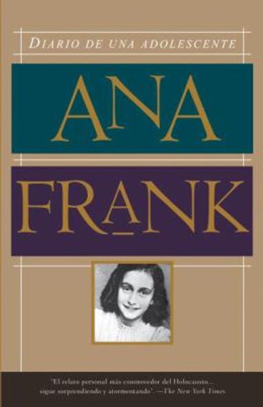 Diario de una adolescente (Anne Frank: The Diary of a Young Girl Spanish Edition) Cover