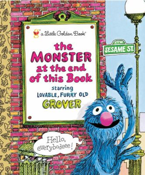 The Monster at the End of This Book (Little Golden Book) Cover