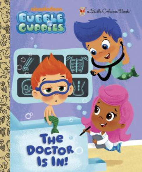 The Doctor Is In! (Little Golden Book) Cover