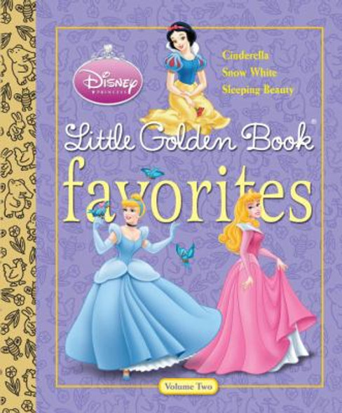 Disney Princess Little Golden Book Favorites Cover