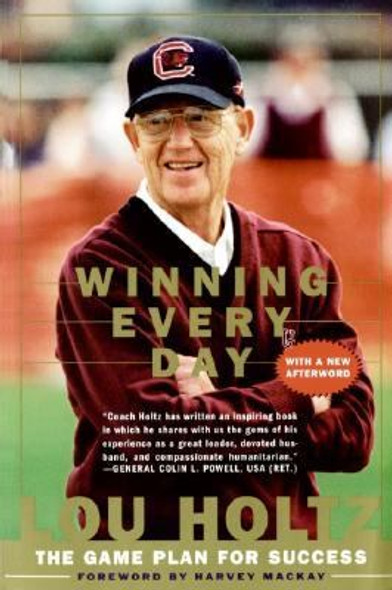 Winning Every Day: The Game Plan for Success Cover