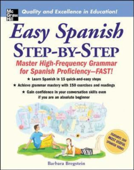 Easy Spanish Step-by-Step: Master High-Frequency Grammar for Spanish Proficiency-Fast! Cover