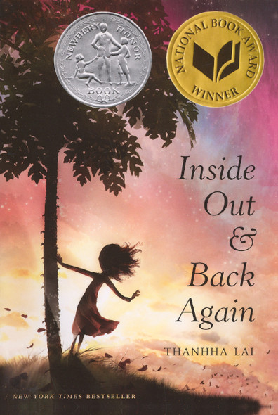 Inside Out And Back Again (Turtleback School & Library Binding Edition) Cover