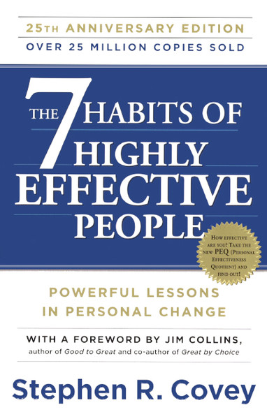 The 7 Habits Of Highly Effective People: 25th Anniversary Edition (Turtleback School & Library Binding Edition) Cover