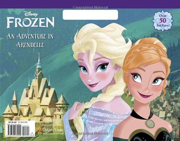 An Adventure in Arendelle (Disney Frozen) (Big Coloring Book) Cover