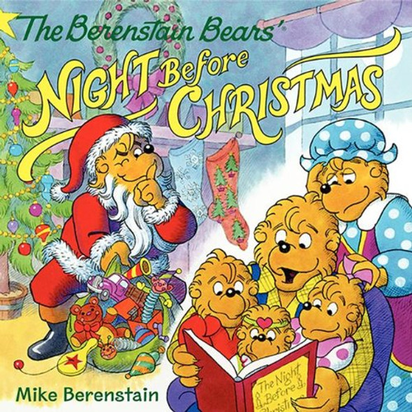 The Berenstain Bears' Night Before Christmas Cover