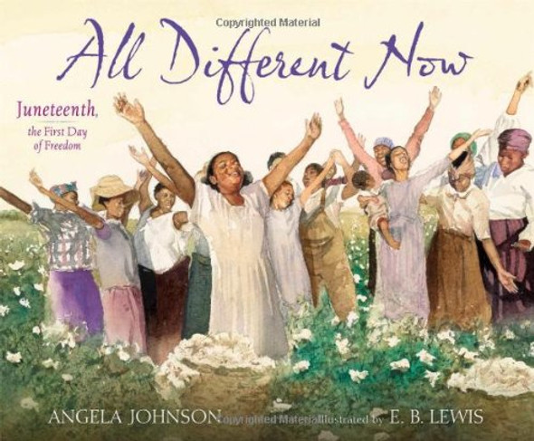 All Different Now: Juneteenth, the First Day of Freedom Cover