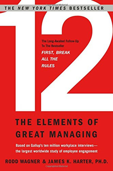 12 : The Elements of Great Managing Cover