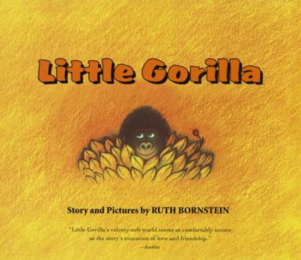 Little Gorilla Lap Board Book Cover