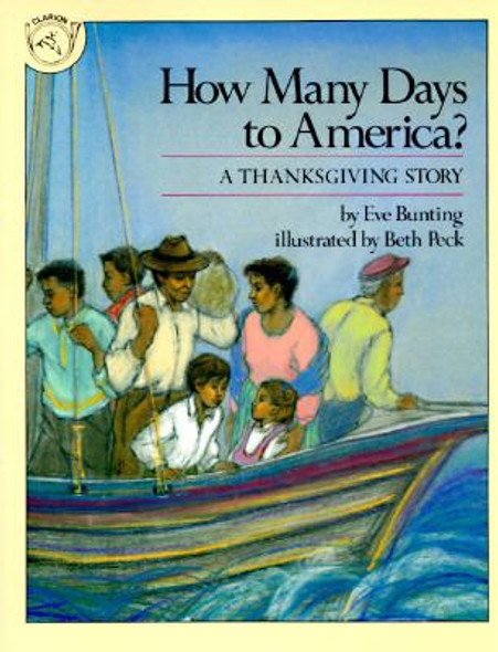 How Many Days to America? : A Thanksgiving Story Cover