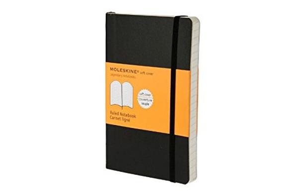Moleskine Ruled Soft Notebook - Pocket Cover
