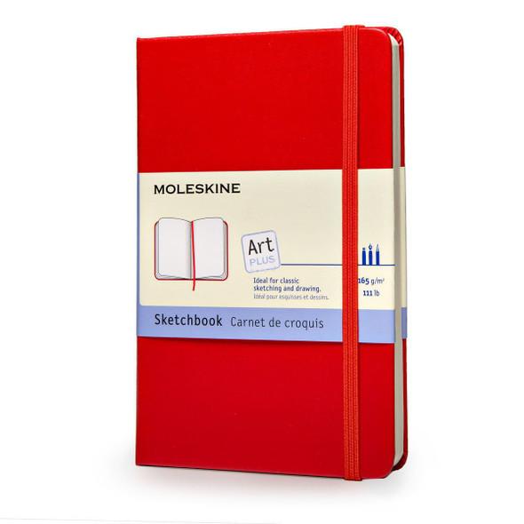 Moleskine Red Sketchbook - Pocket Cover